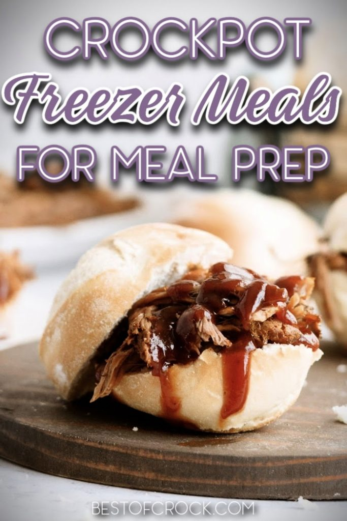 The best easy crockpot freezer meals for meal planning are designed to help you prepare your favorite dinner recipes without sacrificing too much time. Crockpot Meal Planning Tips | Crockpot Meal Planning Recipes | Freezer Meal Planning Recipes | Freezer Bag Recipes | Crockpot Recipes for Meal Prep #mealplanning #crockpotfreezermeals