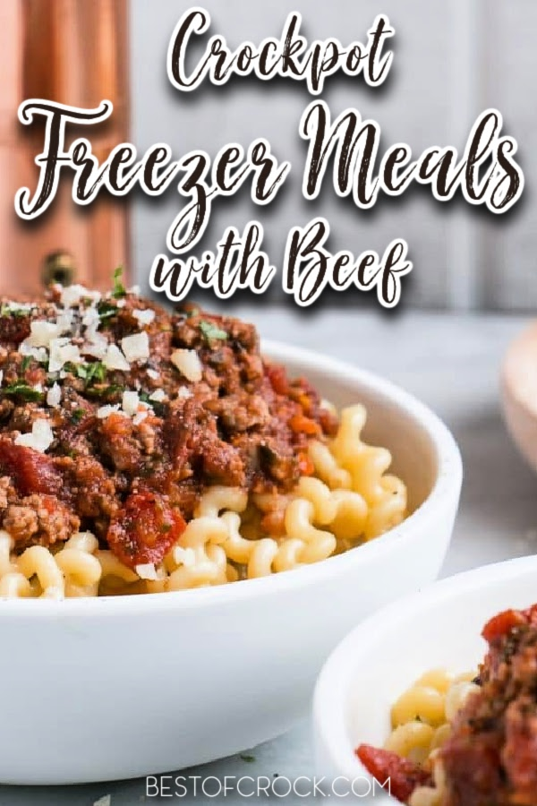 The best healthy crockpot freezer meals with beef can help you add variety to your weekly meals and save time in the kitchen. Healthy Freezer Meals | Freezer Meals with Beef | Healthy Crockpot Recipes with Beef | Crockpot Beef Recipes | Slow Cooker Freezer Meals | Meal Prep Recipes | Beef Meal Prep | Crockpot Meal Prep Recipes #beefrecipes #crockpotrecipes via @bestofcrock