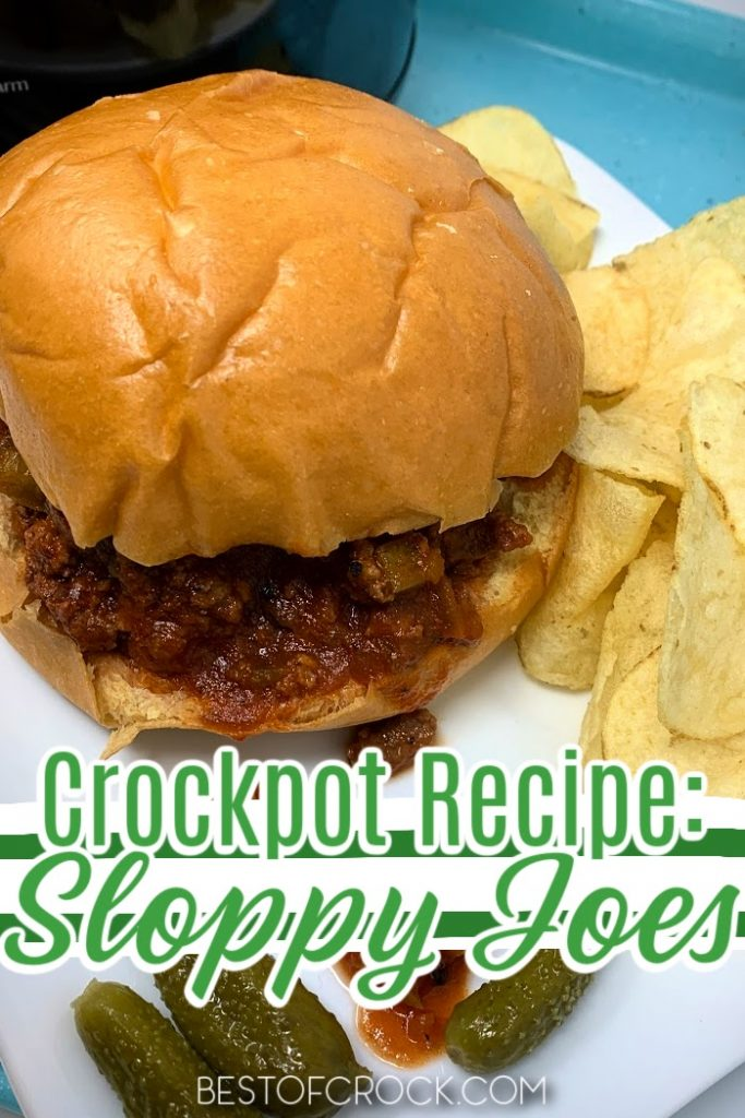 Crockpot Sloppy Joes are not only an easy dinner recipe but a fun recipe for kids to enjoy that parents can reminisce over. Lunch Recipes for Kids   Dinner Recipes for Kids   Fun Recipes for Family Dinner   Sloppy Joes Recipe Crockpot   Sloppy Joes at Home   Crockpot Recipes with Beef   Slow Cooker Beef Recipes #crockpot #recipe