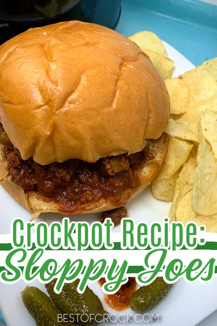 Crockpot Sloppy Joes are not only an easy dinner recipe but a fun recipe for kids to enjoy that parents can reminisce over. Lunch Recipes for Kids   Dinner Recipes for Kids   Fun Recipes for Family Dinner   Sloppy Joes Recipe Crockpot   Sloppy Joes at Home   Crockpot Recipes with Beef   Slow Cooker Beef Recipes #crockpot #recipe via @bestofcrock