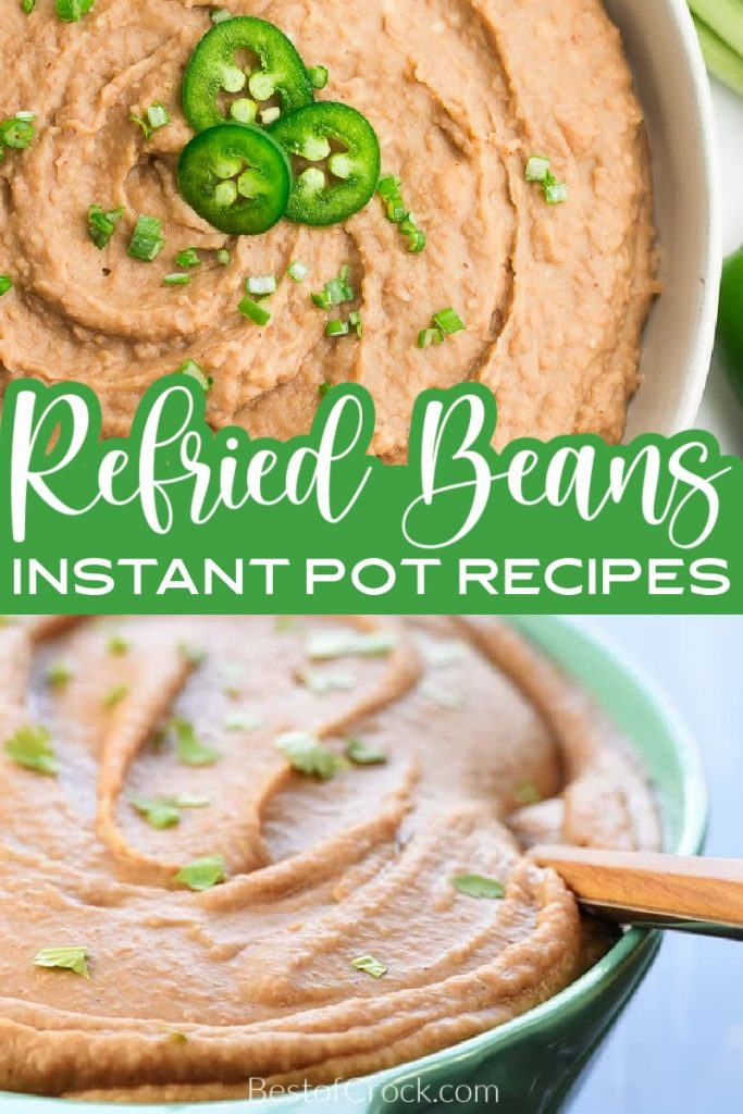 Instant Pot refried beans recipes are a classic Mexican dish that can be made with little effort, making them perfect for Taco Tuesday or any taco dinner night. Pressure Cooker Beans | How to Make Beans in a Pressure Cooker | Instant Pot Side Dish Recipes | Instant Pot Mexican Recipes | Mexican Food Recipes | Mexican Side Dish Recipes | Instant Pot Recipes with Beans | How to Cook Beans in an Instant Pot #instantpotrecipes #mexicanfood