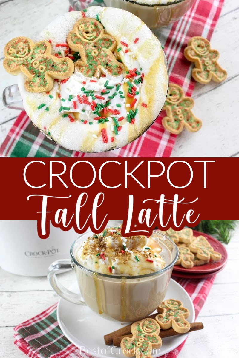 A crockpot Christmas latte is a great way to drink in the holidays and it is one of the easiest fall recipes to enjoy as a fall drink or holiday recipe. Christmas Recipes   Christmas Crockpot Recipe   Slow Cooker Recipes for Fall   Holiday Recipes   Holiday Drink Recipes   Easy Latte Recipe   Fall Crockpot Recipe   Slow Cooker Christmas Recipes #christmas #crockpot via @bestofcrock
