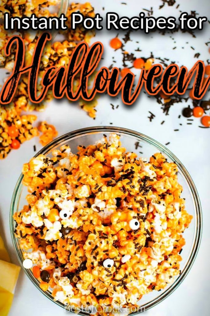 The best Instant Pot Halloween recipes can help you turn your normal evening at home into a spooky celebration. Halloween Party Ideas   Halloween Party Recipes   Foods for Halloween   Spooky Recipes for Halloween   Instant Pot Holiday Recipes   Instant Pot Halloween Party Ideas   Instant Pot Recipes for Fall   Fall Recipes Halloween Instant Pot #halloween#instantpotrecipes