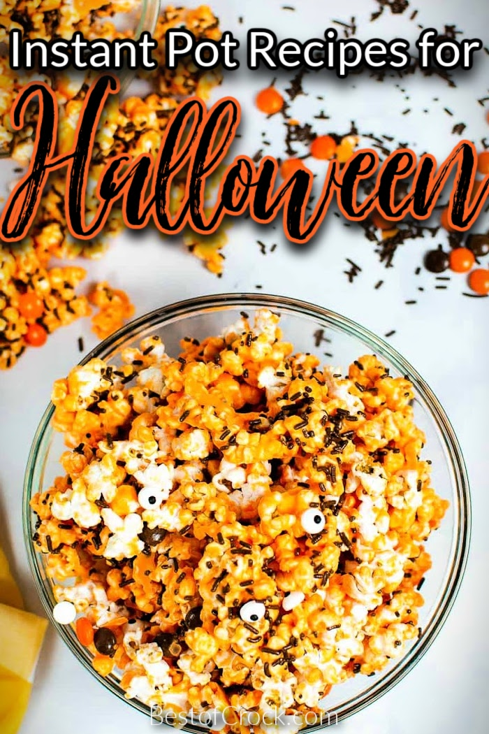 The best Instant Pot Halloween recipes can help you turn your normal evening at home into a spooky celebration. Halloween Party Ideas   Halloween Party Recipes   Foods for Halloween   Spooky Recipes for Halloween   Instant Pot Holiday Recipes   Instant Pot Halloween Party Ideas   Instant Pot Recipes for Fall   Fall Recipes Halloween Instant Pot #halloween#instantpotrecipes via @bestofcrock